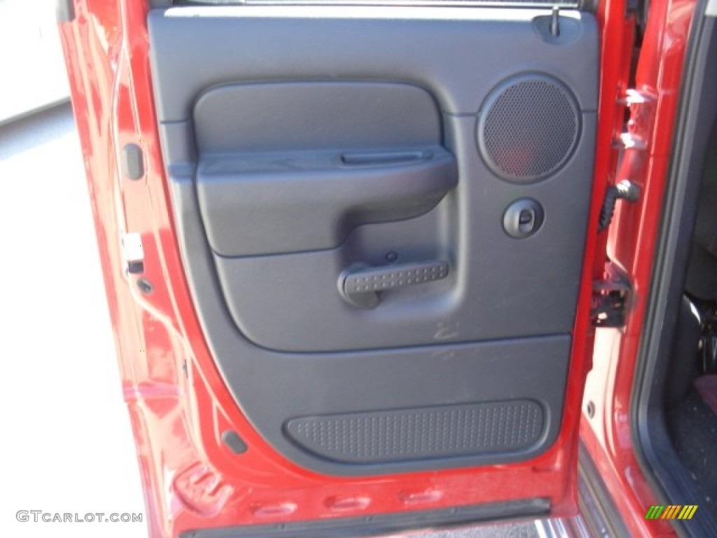 2002 Ram 1500 Sport Quad Cab 4x4 - Flame Red / Dark Slate Gray photo #17