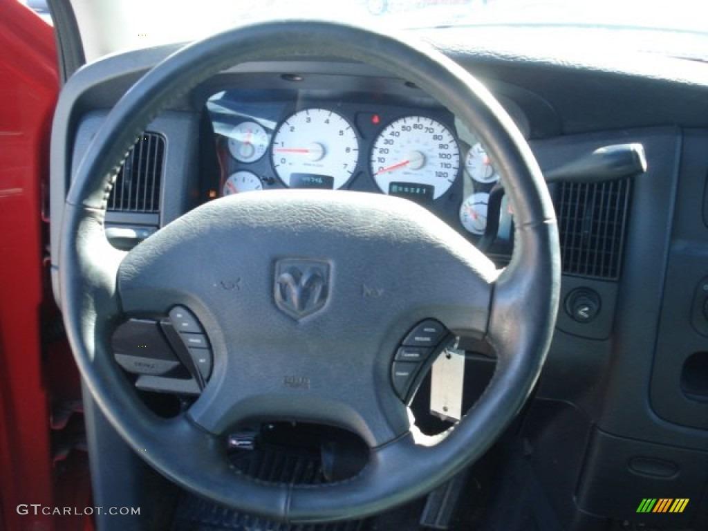 2002 Ram 1500 Sport Quad Cab 4x4 - Flame Red / Dark Slate Gray photo #21