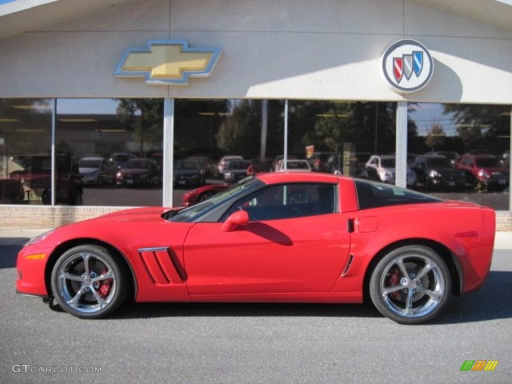 2013 Torch Red Chevrolet Corvette Grand Sport Coupe