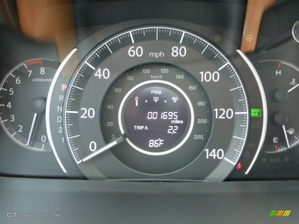 2012 Honda CR-V EX-L 4WD Gauges Photo #71276695