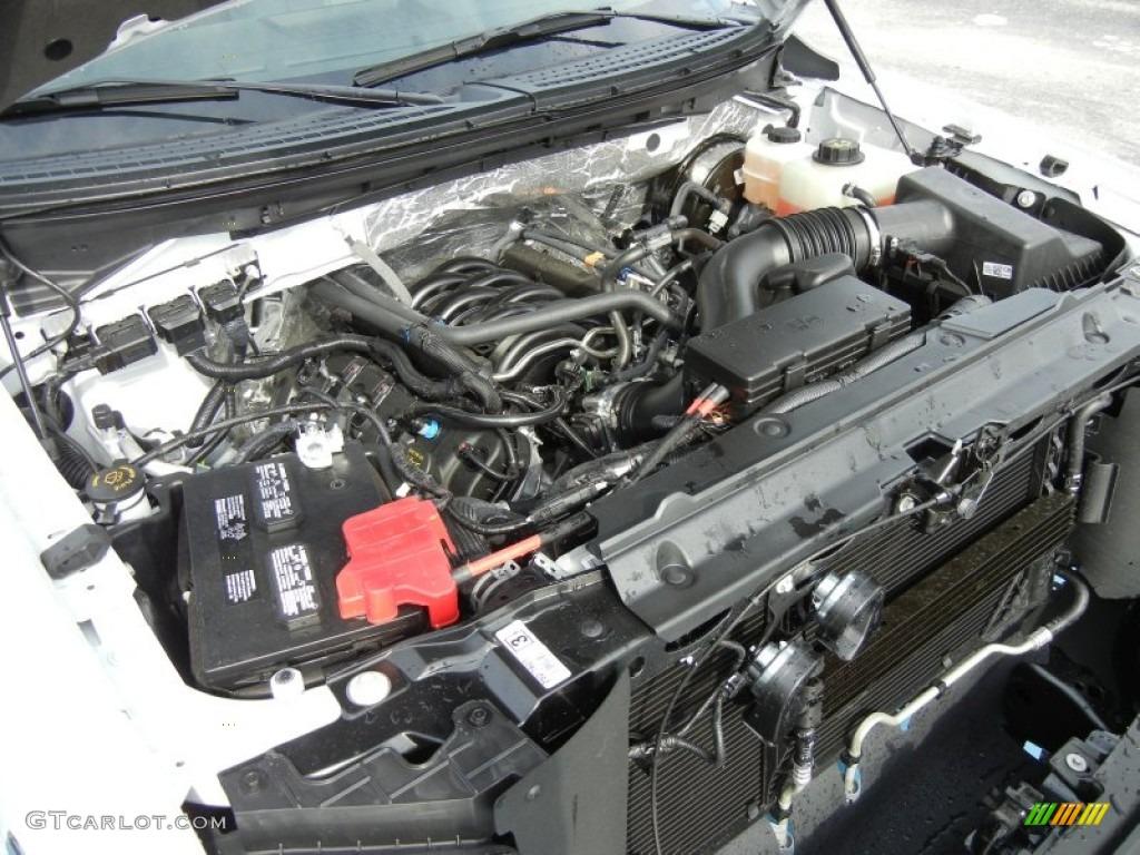 2013 ford f150 xl regular cab 5 0 liter flex fuel dohc 32 for Motor ford f150 v8