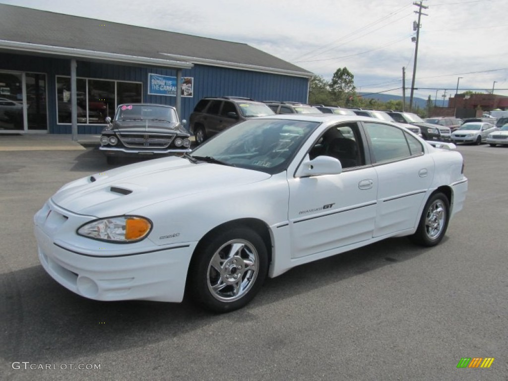 2002 arctic white pontiac grand am gt sedan 71275657. Black Bedroom Furniture Sets. Home Design Ideas