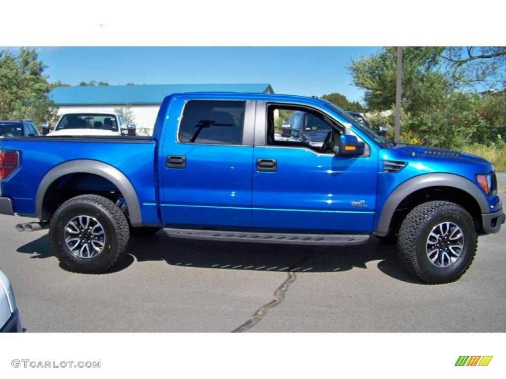 Blue Flame Metallic 2017 Ford F150 Svt Raptor Supercrew 4x4 Exterior Photo 71284936