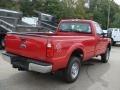 2012 Vermillion Red Ford F250 Super Duty XL Regular Cab 4x4  photo #8