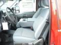 2012 Vermillion Red Ford F250 Super Duty XL Regular Cab 4x4  photo #11