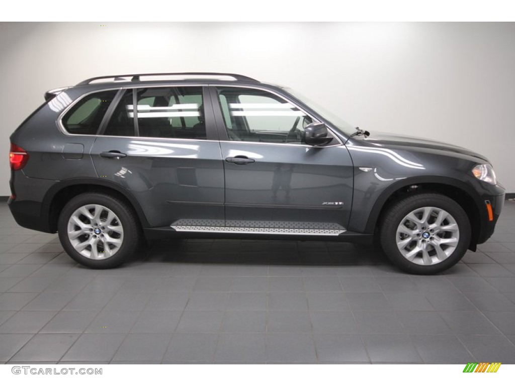 Platinum Gray Metallic 2013 Bmw X5 Xdrive 35i Premium
