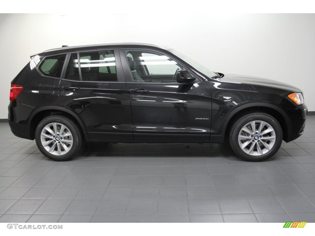 Black Sapphire Metallic 2013 Bmw X3 Xdrive 28i Exterior Photo 71302438