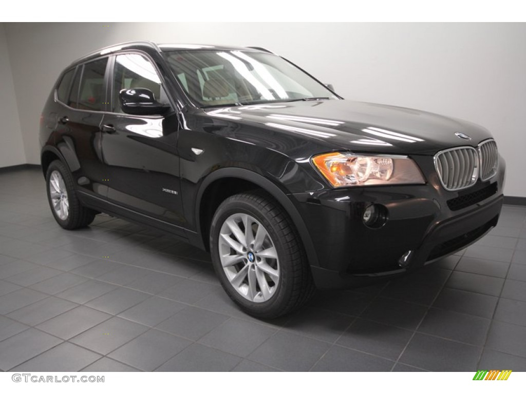 black sapphire metallic 2013 bmw x3 xdrive 28i exterior. Black Bedroom Furniture Sets. Home Design Ideas