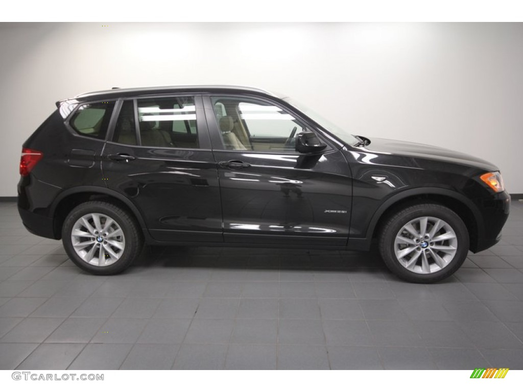 Black Sapphire Metallic 2013 Bmw X3 Xdrive 28i Exterior Photo 71302696