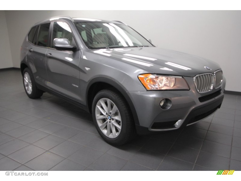space gray metallic 2013 bmw x3 xdrive 28i exterior photo 71302938. Black Bedroom Furniture Sets. Home Design Ideas