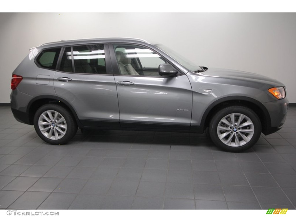 Space Gray Metallic 2013 Bmw X3 Xdrive 28i Exterior Photo 71302948