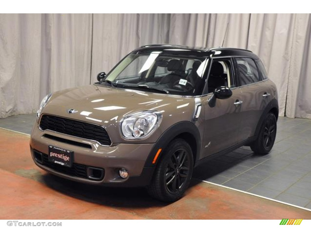 2012 light coffee mini cooper s countryman all4 awd 71274844 car color galleries. Black Bedroom Furniture Sets. Home Design Ideas