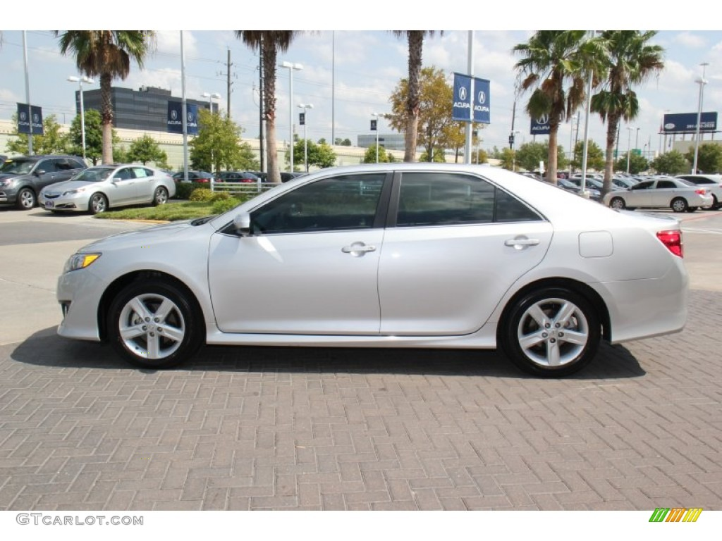 classic silver metallic 2012 toyota camry se exterior photo 71312863. Black Bedroom Furniture Sets. Home Design Ideas