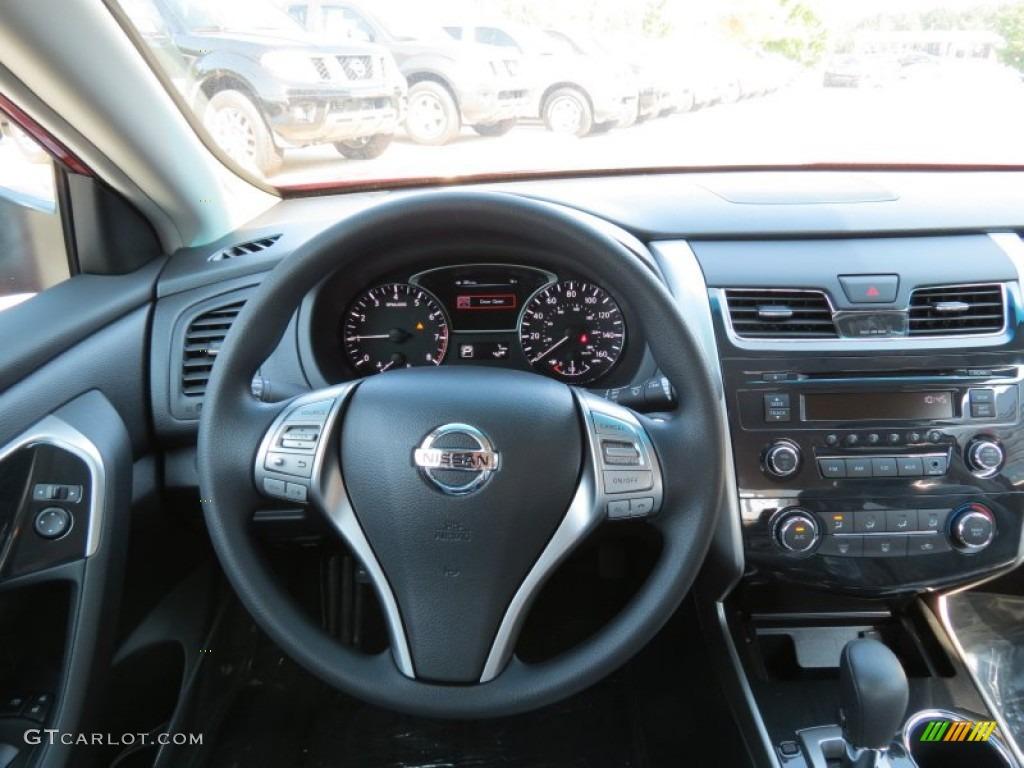 2013 Nissan Altima 2.5 S Charcoal Dashboard Photo #71315272