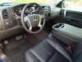 2013 Blue Topaz Metallic Chevrolet Silverado 1500 LT Crew Cab 4x4  photo #25