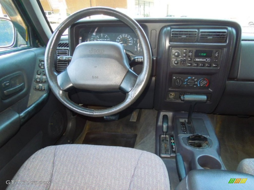 1999 jeep cherokee sport 4x4 agate dashboard photo 71331780. Black Bedroom Furniture Sets. Home Design Ideas