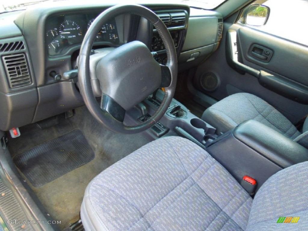 Agate Interior 1999 Jeep Cherokee Sport 4x4 Photo 71331843 Gtcarlot Com