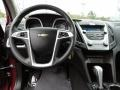 Jet Black Steering Wheel Photo for 2010 Chevrolet Equinox #71333443