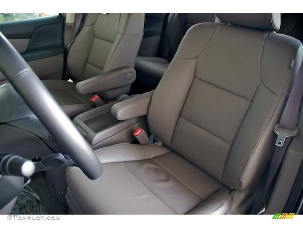 Truffle Interior 2013 Honda Odyssey Touring Elite Photo