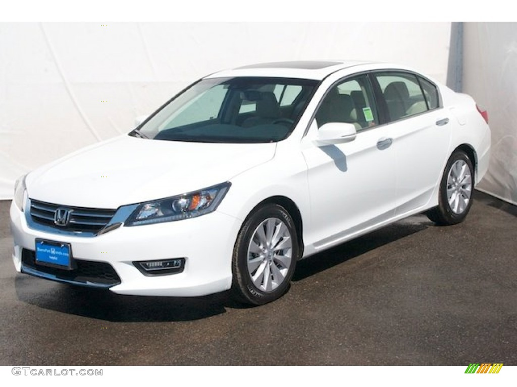 white orchid pearl 2013 honda accord ex l sedan exterior. Black Bedroom Furniture Sets. Home Design Ideas
