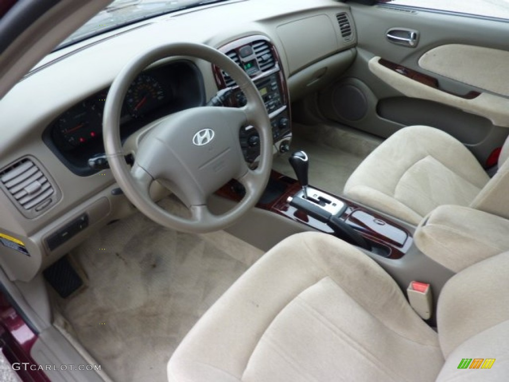 2005 Hyundai Sonata Gls V6 Interior Color Photos