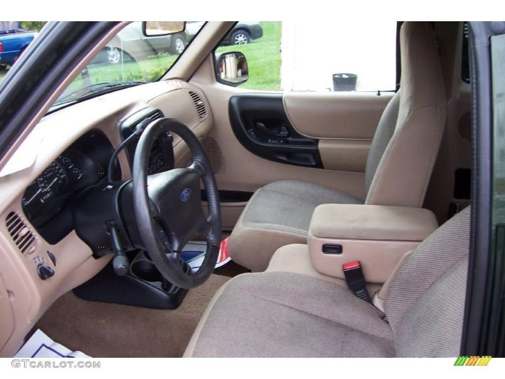 Medium Prairie Tan Interior 2001 Ford Ranger Xlt Supercab Photo 71342378