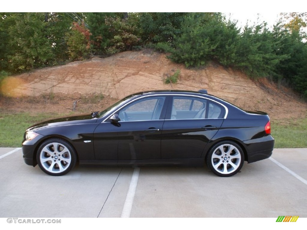 black sapphire metallic 2007 bmw 3 series 335i sedan. Black Bedroom Furniture Sets. Home Design Ideas