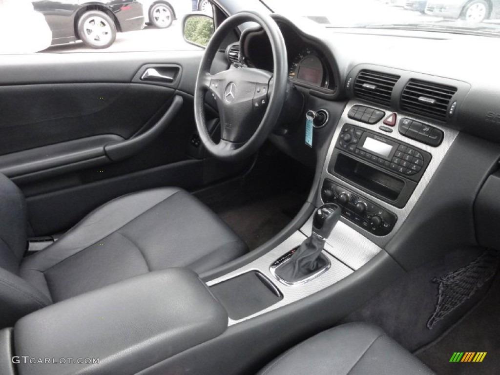 Charcoal Interior 2003 Mercedes Benz C C320 Sport Coupe Photo 71346185
