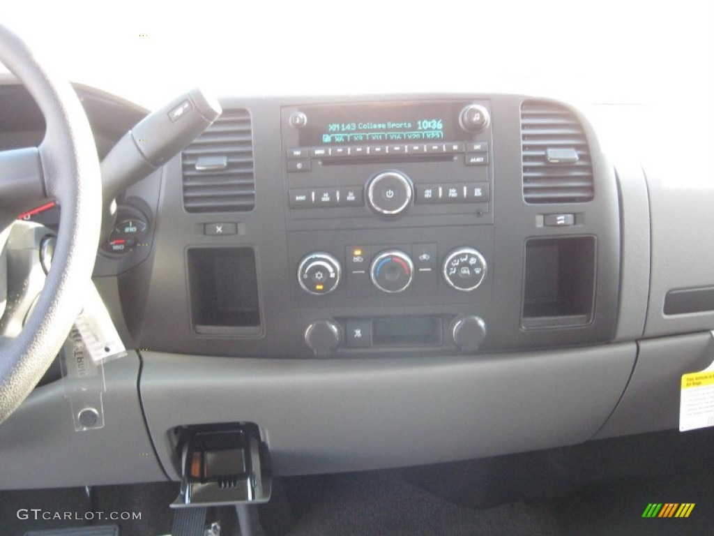 2011 Silverado 1500 LS Extended Cab - Black / Dark Titanium photo #8