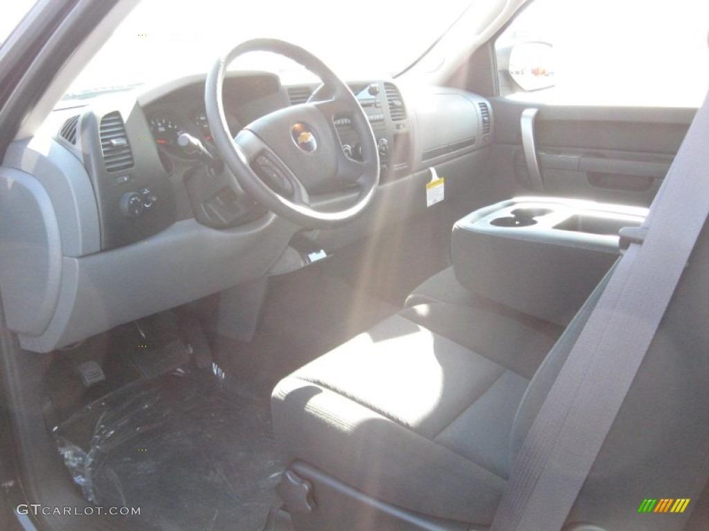 2011 Silverado 1500 LS Extended Cab - Black / Dark Titanium photo #9