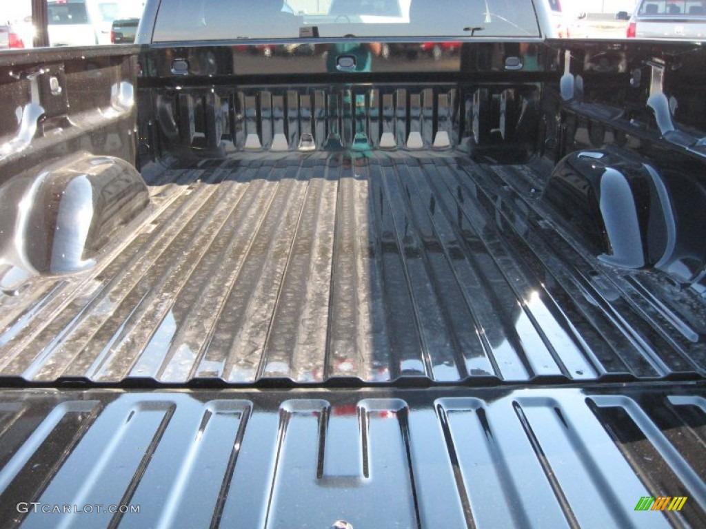 2011 Silverado 1500 LS Extended Cab - Black / Dark Titanium photo #12