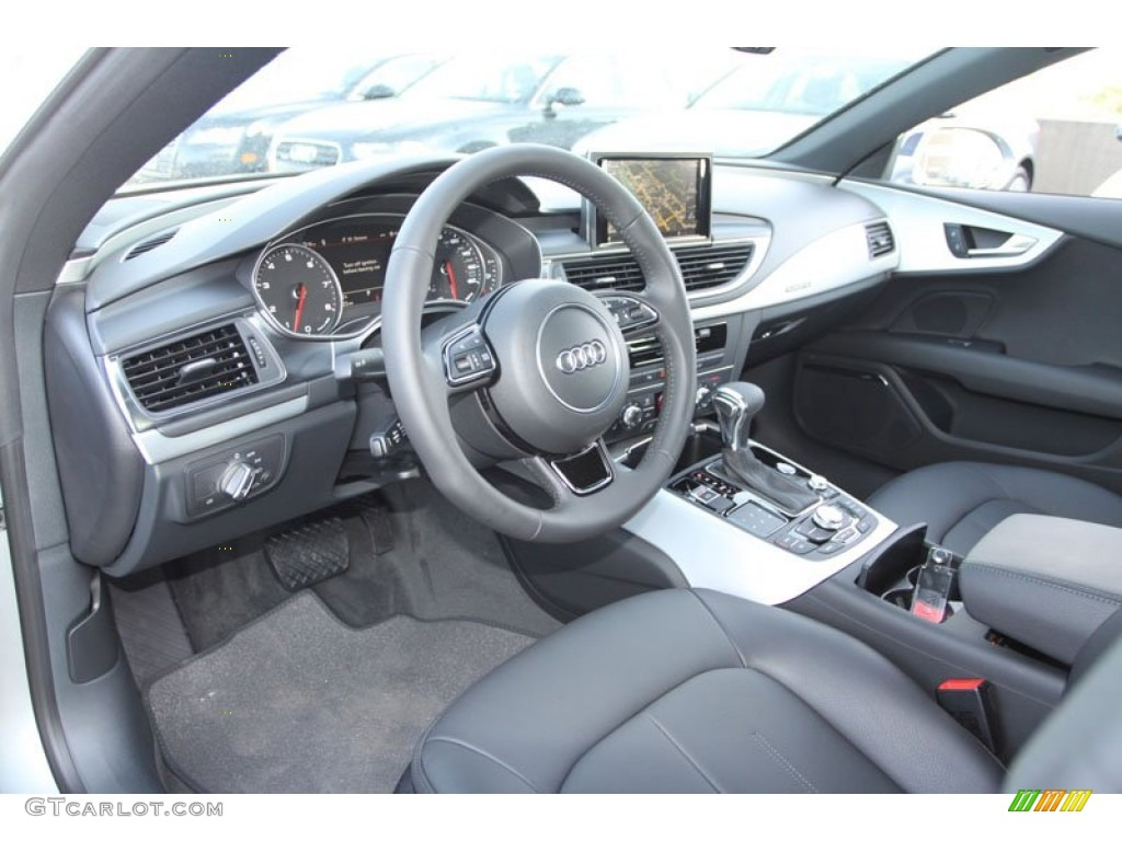 black interior 2013 audi a7 3 0t quattro premium plus photo 71353904. Black Bedroom Furniture Sets. Home Design Ideas