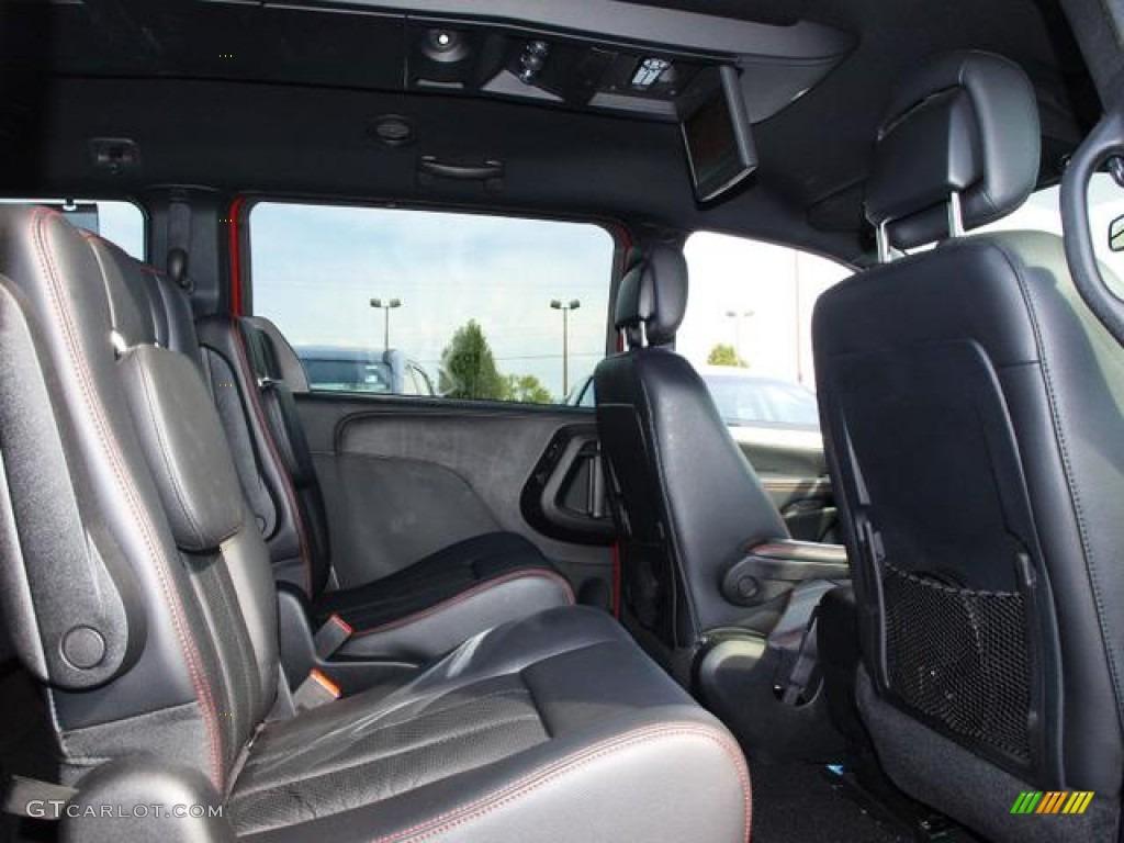 2011 Dodge Grand Caravan R T Interior Color Photos