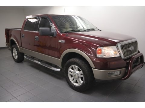 2004 Ford F150 Lariat SuperCrew 4x4 Data Info and Specs