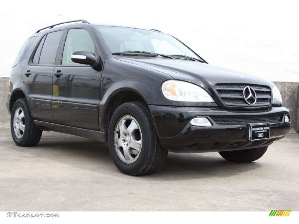 2003 black mercedes benz ml 350 4matic 71384160 for 2003 mercedes benz ml 350