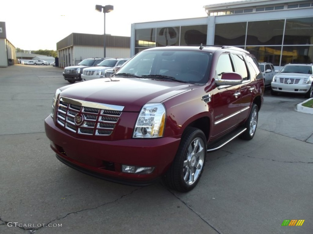 2013 crystal red tintcoat cadillac escalade luxury 71383892 car color galleries. Black Bedroom Furniture Sets. Home Design Ideas