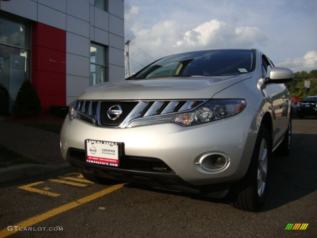 2010 Murano S AWD - Brilliant Silver Metallic / Black photo #1