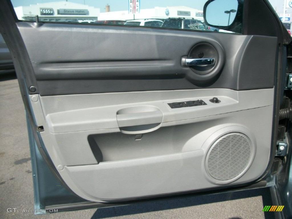 2005 Dodge Magnum Se Dark Slate Gray Light Graystone Door