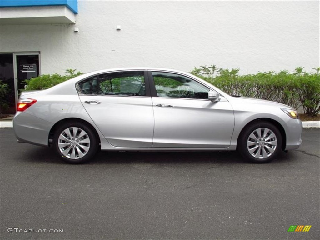 alabaster silver metallic 2013 honda accord ex l sedan