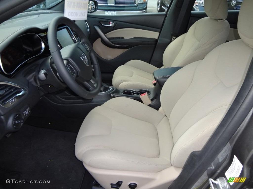 Black Light Frost Interior 2013 Dodge Dart Limited Photo 71422285