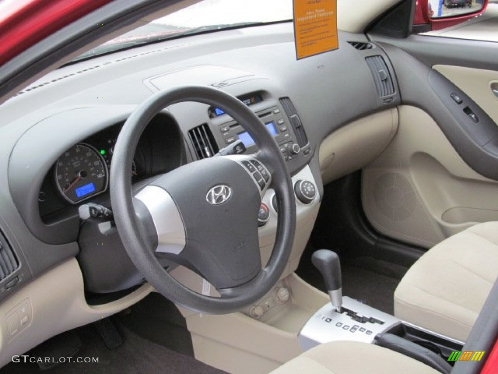 2008 Hyundai Elantra Gls Sedan Dashboard Photos Gtcarlot Com