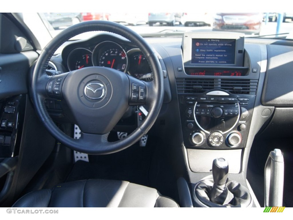 2005 mazda rx 8 standard rx 8 model dashboard photos. Black Bedroom Furniture Sets. Home Design Ideas
