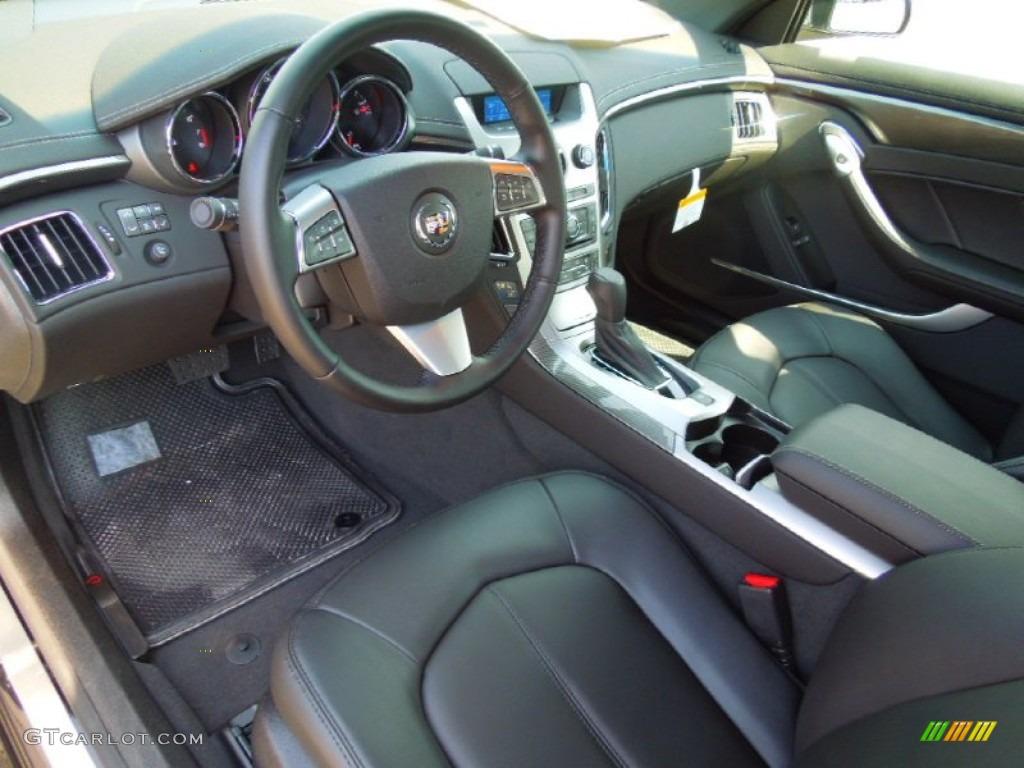 Ebony Interior 2013 Cadillac Cts Coupe Photo 71429756