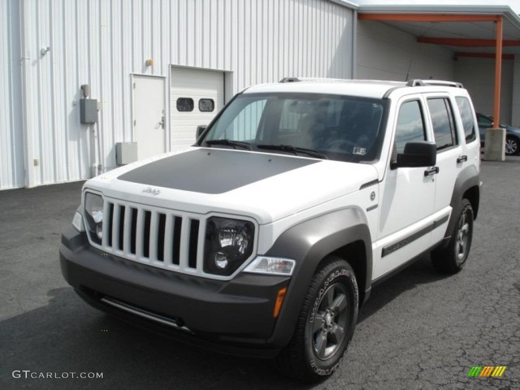 bright white 2011 jeep liberty renegade 4x4 exterior photo 71438231. Black Bedroom Furniture Sets. Home Design Ideas