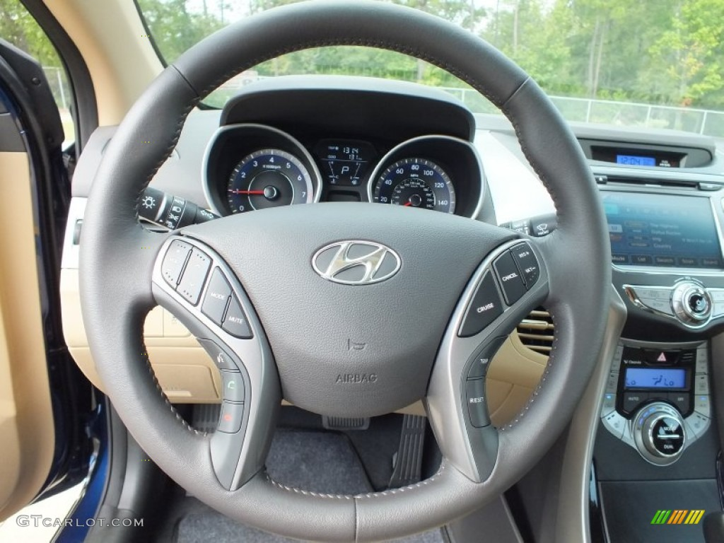2013 Atlantic Blue Hyundai Elantra Limited 71435218 Photo 13 Car Color Galleries