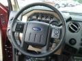 2012 Autumn Red Metallic Ford F250 Super Duty XLT Crew Cab 4x4  photo #18