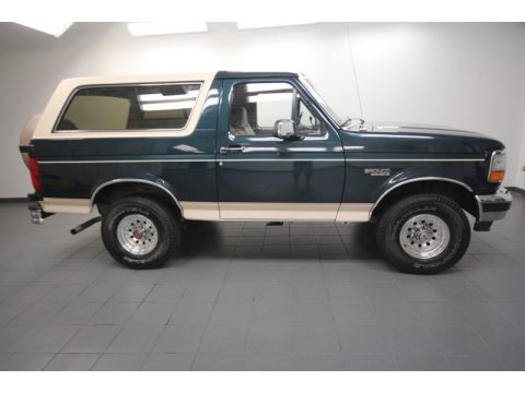 1993 ford bronco eddie bauer 4x4 data info and specs. Black Bedroom Furniture Sets. Home Design Ideas