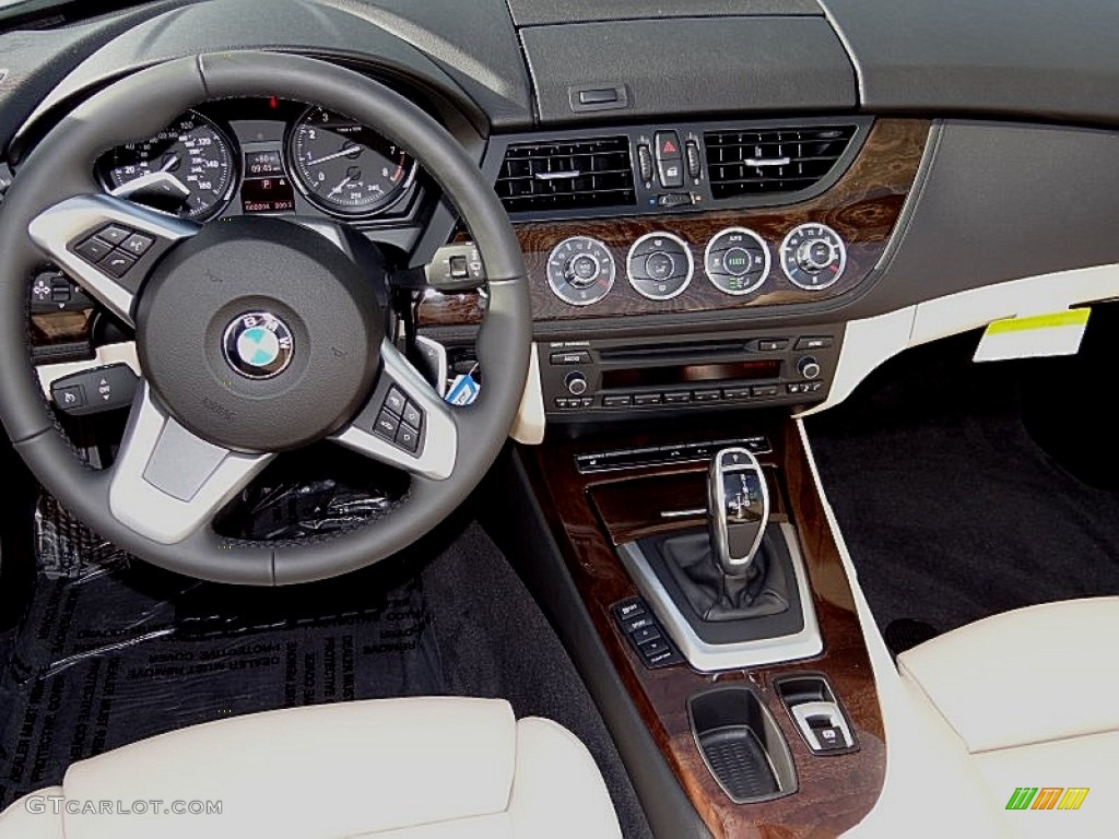 2013 Bmw Z4 Sdrive 28i Beige Dashboard Photo 71453666