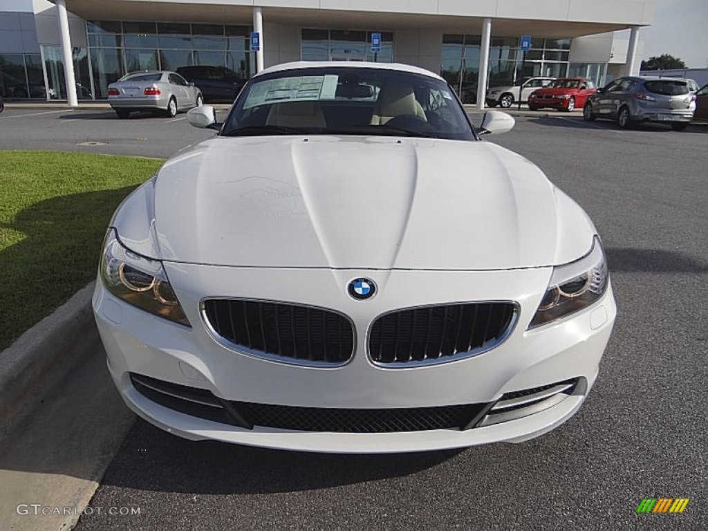 2013 Alpine White Bmw Z4 Sdrive 28i 71434796 Photo 4