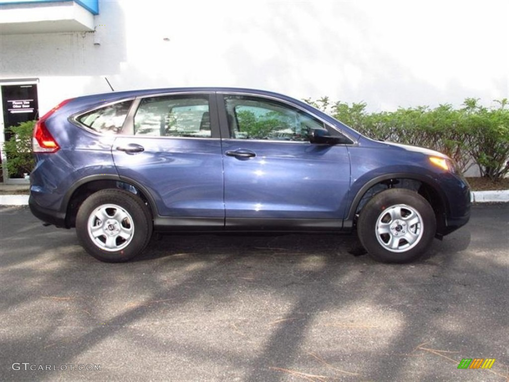 Twilight Blue Metallic 2012 Honda Cr V Lx Exterior Photo 71455256 Gtcarlot Com